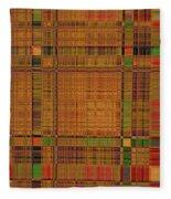 1190 Abstract Thought Fleece Blanket