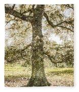 Greenwich Park London Art Fleece Blanket