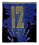 12 In  Blue Fleece Blanket