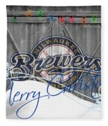 Milwaukee Brewers Fleece Blanket