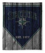 Seattle Mariners Fleece Blanket