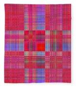 1212 Abstract Thought Fleece Blanket
