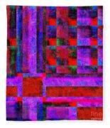 1227 Abstract Thought Fleece Blanket