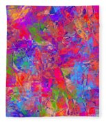 1248 Abstract Thought Fleece Blanket