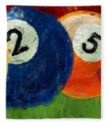 1258 Billiards Fleece Blanket