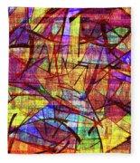 1261 Abstract Thought Fleece Blanket