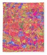 1262 Abstract Thought Fleece Blanket