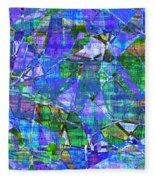 1289 Abstract Thought Fleece Blanket