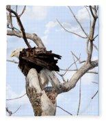 Bald Eagle Fleece Blanket