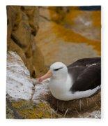 Black-browed Albatross Fleece Blanket