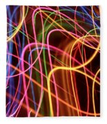 Energy Lines Fleece Blanket