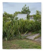 Key West Cemetery Fleece Blanket