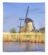 Kinderdijk Fleece Blanket