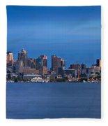 Seattle Fleece Blanket