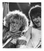 Van Halen - Sammy Hagar With Eddie Van Halen Fleece Blanket