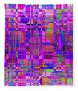 1302 Abstract Thought Fleece Blanket