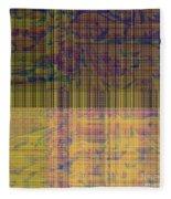 1319 Abstract Thought Fleece Blanket