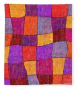1343 Abstract Thought Fleece Blanket