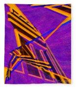 1359 Abstract Thought Fleece Blanket