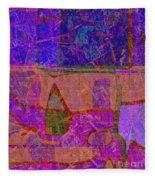 1381 Abstract Thought Fleece Blanket