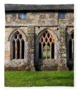 13th Century Abbey Fleece Blanket
