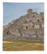Edzna In Campeche Fleece Blanket
