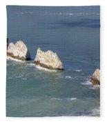 Isle Of Wight Fleece Blanket