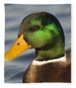 Mallard Duck Fleece Blanket