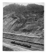 Panama Canal, C1910 Fleece Blanket