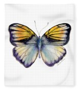 14 Pieridae Butterfly Fleece Blanket