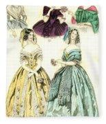 Women's Fashion, 1842 Fleece Blanket