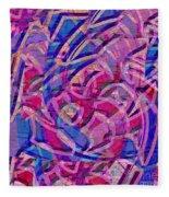 1412 Abstract Thought Fleece Blanket