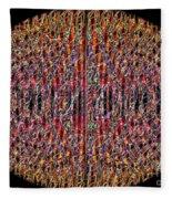 1458 Abstract Thought Fleece Blanket