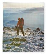 A Summit Intern Hikes The Northwest Fleece Blanket