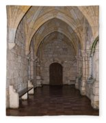 Ancient Spanish Monastery Fleece Blanket