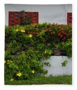 15- Garden Walk Fleece Blanket