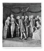 George Washington (1732-1799) Fleece Blanket