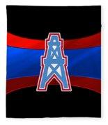 Houston Oilers Fleece Blanket