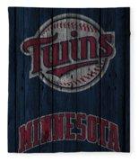 Minnesota Twins Fleece Blanket