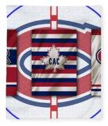 Montreal Canadiens Fleece Blanket