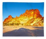 Rainbow Valley Fleece Blanket