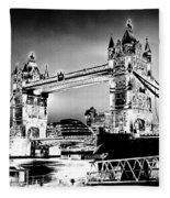 Tower Bridge Art Fleece Blanket