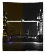 Tower Bridge Fleece Blanket