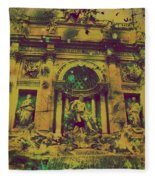 Trevi Fountain Fleece Blanket