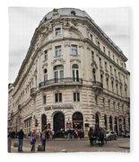 Vienna Austria Fleece Blanket