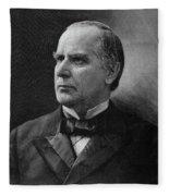 William Mckinley (1843-1901) Fleece Blanket