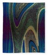 1501 Abstract Thought Fleece Blanket