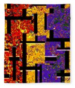 1517 Abstract Thought Fleece Blanket