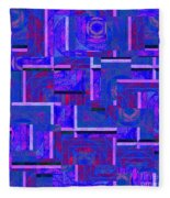 1527 Abstract Thought Fleece Blanket