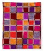 1535 Abstract Thought Fleece Blanket